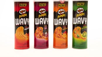 Pringles Wavy to debut in the new year