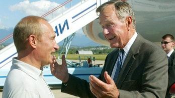 George H.W. Bush's Putin encounter in Maine remembered by George W. Bush