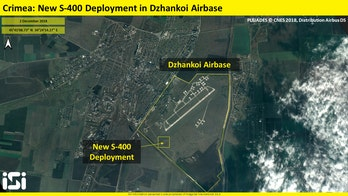 Russia deploys S-400 surface-to-air missile battery in Crimea, seen in new satellite images