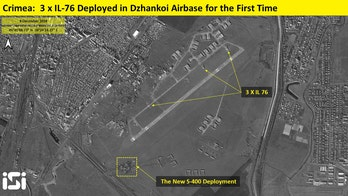 Russia building up forces near Crimea amid tensions with Ukraine, satellite photos show