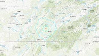 Earthquake, magnitude 4.4, rattles Tennessee, Georgia