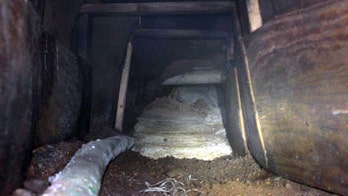 Unfinished 'illicit' border tunnel discovered, CBP says