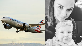 American Airlines passenger who gave up first-class seat for mom and baby speaks out: 'I was tearing up'
