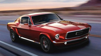 Retro-electric 1967 Ford Mustang revealed in Russia