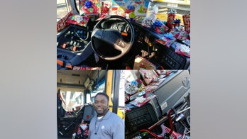 Texas school bus driver gifts holiday presents to kids on his bus: report
