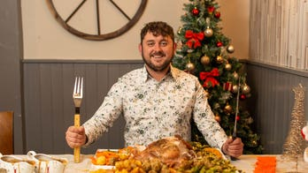 English pub offers 31-pound Christmas dinner challenge: 'I don't expect anyone to finish it'