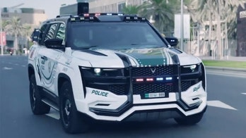 Dubai's wild new police truck can I.D. pedestrians with facial recognition tech