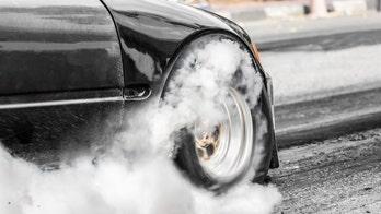Australian couple's gender reveal stunt backfires when car catches fire