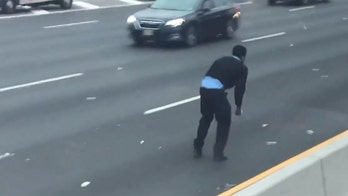 Cash spill on New Jersey highway leads to multiple crashes, chaos during morning commute
