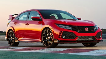 The Honda Civic Type R looks crazy so it doesn't drive that way