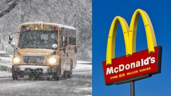 Alabama elementary school bus driver buys McDonald's breakfast for students when ice delays school opening
