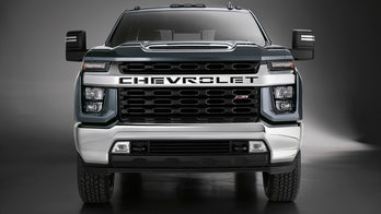 The 2020 Chevrolet Silverado HD shows its face