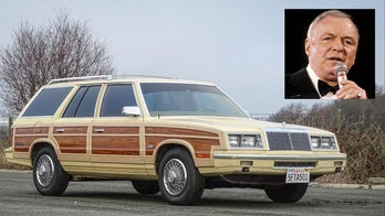 Frank Sinatra's woody wagon is for sale