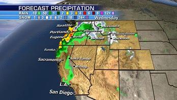 Heavy rain, snow could threaten travel on West Coast