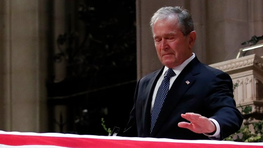 Dear President Bush, thank you for your tears