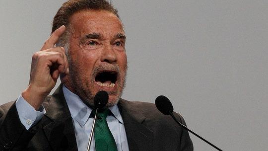 Arnold Schwarzenegger calls Trump 'meshugge' on climate accord