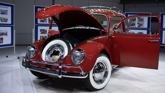 Half-century-old VW Beetle found and fixed up