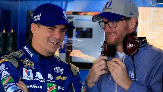 Dale Earnhardt Jr. once got Jeff Gordon out of a ticket