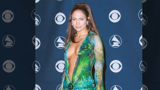 Jennifer Lopez reveals she keeps iconic Versace gown on a mannequin