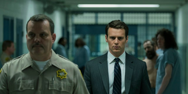 A still from 'Mindhunter' Season 1. Actor Jonathan Groff plays the role of agent Holden Ford,based on real-life FBI profiler John Douglas.