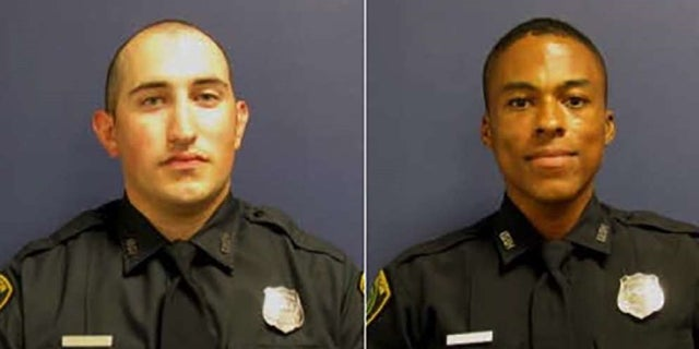 Officers John Daily and Alonzo Reid