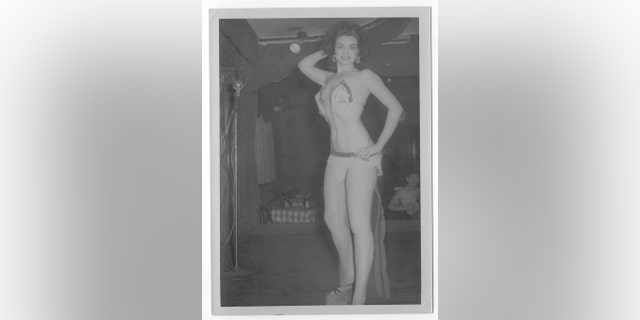 Goldie Page was a burlesque performer before she became a wife and mother.