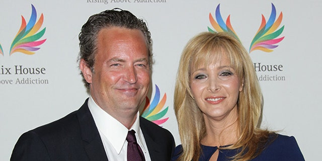 Lisa Kudrow revealed that Matthew Perry gifted her a prop from the set of 'Friends.'