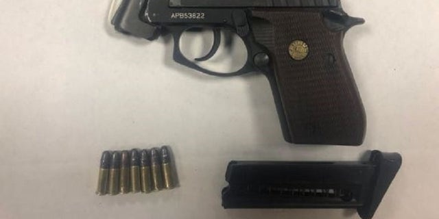 A 17-year-old was charged with carrying a gun without a permit.