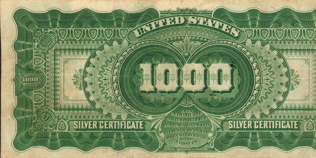 Extremely rare 'unicorn' of US paper money expected to sell