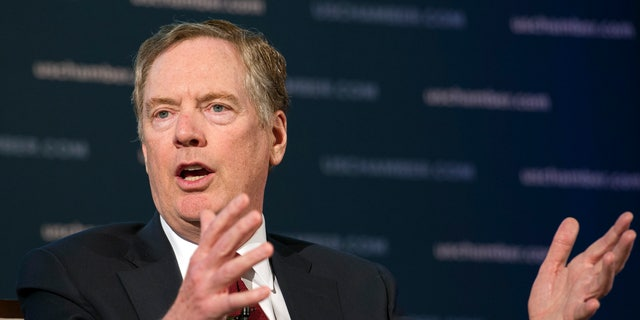 Robert Lighthizer is the U.S. Trade Representative.
