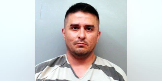 U.S. Border Patrol agent Juan David Ortiz allegedly shot four women in the head and left their bodies on rural Texas roadsides, authorities say. (Webb County Sheriff's Office via AP)