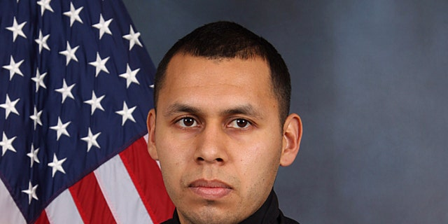 DeKalb County police Officer Edgar Isidro Flores was gunned down after a traffic stop and foot chase east of Atlanta on Dec. 13.