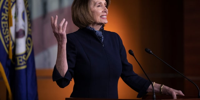 House Democratic leader Nancy Pelosi is hoping to get her old job as Speaker back in the new Congress.