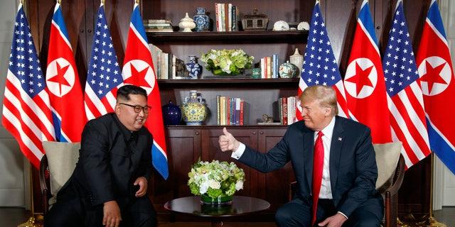 President Trump met with North Korean leader Kim Jong Un in Singapore in June.