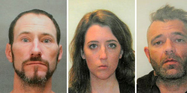GoFundMe said it has made refunds to everyone who contributed to a campaign involving Johnny Bobbitt, left, Katelyn McClure and Mark D'Amico.