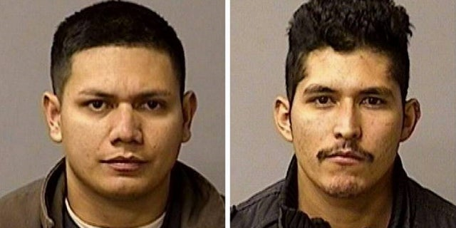 Arriaga's other brother Adrian Virgen (L), 25, and co-worker Erik Razo Quiroz, 27 were arrested after officials said they had attempted to mislead investigators in an effort to protect the suspect.
