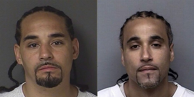 Ricky Amos, left, and Richard Jones, right. Jones spent 17 years in prison after being wrongfully convicted of a robbery.