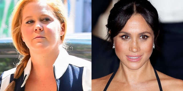 Amy Schumer joked that Meghan Markle was her pregnant nemesis.