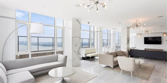 With an asking price of $85 million, the 15,000-square-foot duplex penthouse at the Atelier in New York City costs $5,666 per square foot.(Daniel Neiditch President of River 2 River Realty)