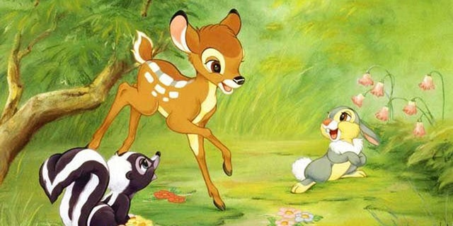 """A Missouri hunter involved in the illegal killing of """"several hundred deer"""" over the years must watch the Disney classic """"Bambi"""" once a month while he remains behind bars.(Walt Disney)"""
