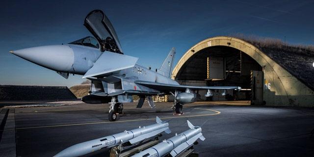 Meteor on German Air Force Eurofighter Typhoon (MBDA)