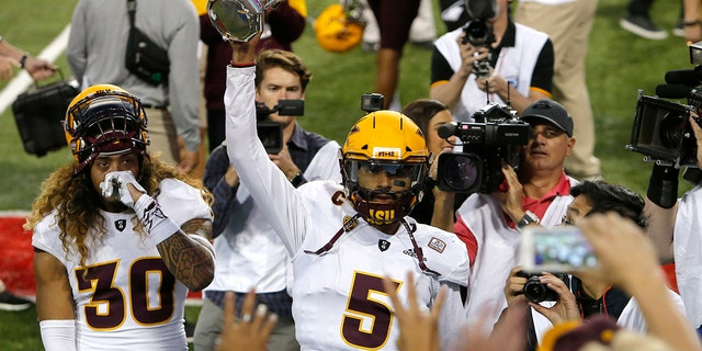 Arizona State is looking for its first bowl win since 2014. The team lost in the Sun Bowl last year.