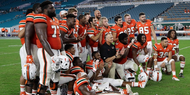 Though Miami didn't have a stellar season, the Hurricanes continue their streak of bowl appearances. This year will be their sixth.