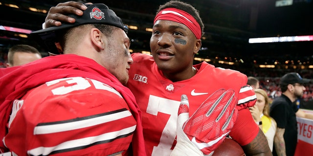 Ohio State won the Big Ten title, but will have to settle for a Rose Bowl appearance instead.