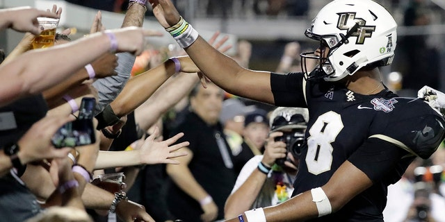 Central Florida is on a 25-game winning streak, but will not have a shot at a national championship.