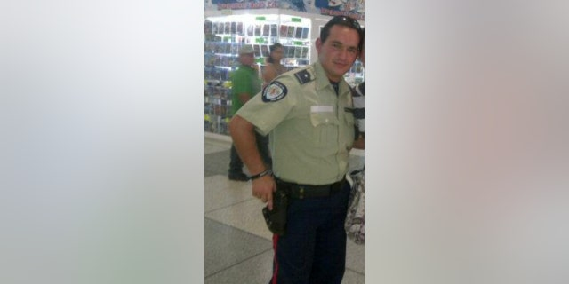 Carlos Juarez worked as a policeman in Venezuela, before decided to flee the country.