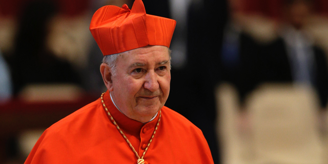Chile's Cardinal Francisco Javier Errazuriz Ossa was removedfrom Pope Francis' informal cabinet after he was implicated in the Catholic Church's sex abuse and cover-up scandal, shedding embarrassing advisers ahead of a high-stakes Vatican summit on abuse early next year. (AP Photo/Andrew Medichini, File)