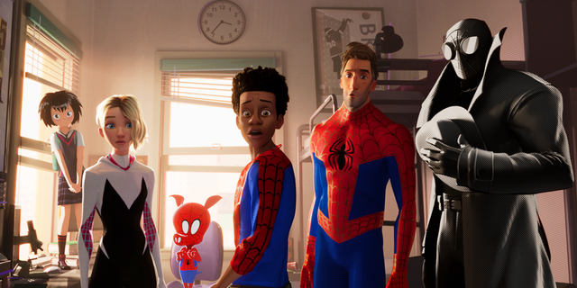 Sony's 'Spider-Man: Into the Spider-verse' is one of the many animated movies one can watch on Netflix right now.