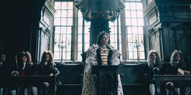 """""""The Favourite"""" has 10 Oscar nominations, including for Best Picture."""