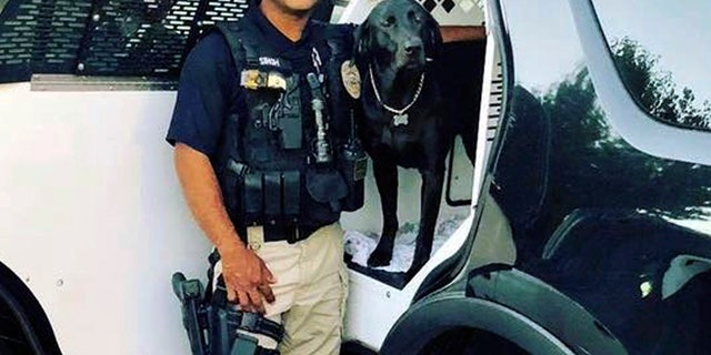 This undated photo provided by the Newman Police Department shows officer Ronil Singh of Newman Police Department.